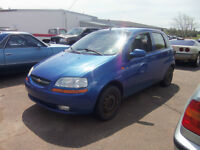 2004 Chevrolet Aveo Hatchback ! AUTOMATIC !! SELLING AS TRADED!!