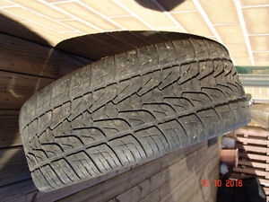 Cadillac alloy rims and tires. Moose Jaw Regina Area image 2