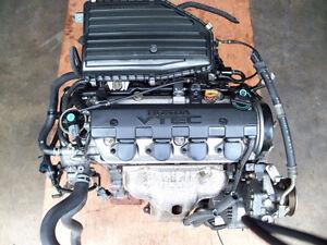 HONDA CIVIC 2001 2002 2003 2004 2005 1.7L MOTEUR D17A1 D17A2