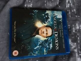 Angels and demons bluray DVD