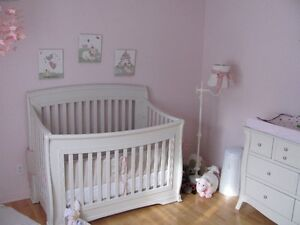 Douillette de bassinnette bébé + 3 toiles collection Princesse