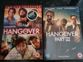 DVD Hangover Part 2 &Part 3- £3 each