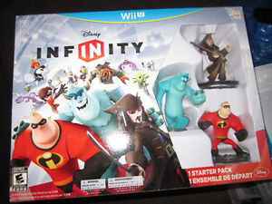 Disney INFINITY Starter Packs for WiiU - new, in opened boxes Kitchener / Waterloo Kitchener Area image 2