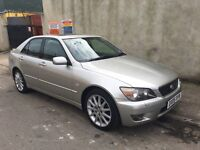 2005 LEXUS IS200 MANUAL SAT NAV SUNROOF HEATED ELECTRIC LEATHERS FULL HISTORY BARGAIN