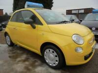 2010 10 FIAT 500 1.2 POP 3DR 70 BHP FINANCE WITH NO DEPOSIT AND NOTHING TO PAY F