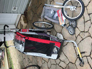 Chariot Bike Trailer with infant sling