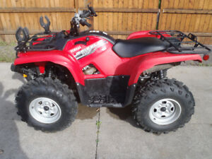 ATV for plowing snow