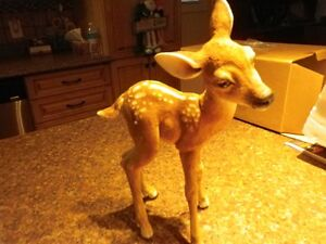 """***Country Artists, hand painted porcelain Bambi....11.5"""" high.."""