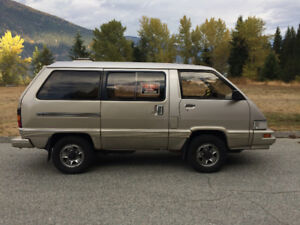 Rare Toyota 4x4 Van - Domestic Version/Low Miles