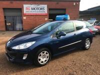 2008(58) Peugeot 308 1.6HDI ( 90bhp ) Blue, 3dr, Hatch, **ANY PX WELCOME*