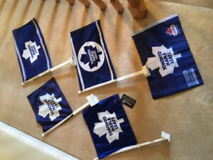 Qty 5 Toronto Maple Leaf Car Flags.$6 each or all 5 for $20