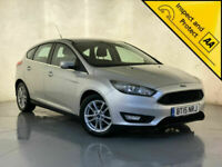 2015 FORD FOCUS ZETEC £0 ROAD TAX PARKING SENSORS 1 OWNER SERVICE HISTORY
