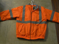 Orange reflective jackets/North end all climate wear