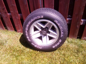 A full set of 4    IROC rims and tires