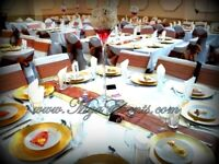 Wedding Plate Hire Cutlery Rental 30p Gold Table Linen Hire Reception Centrepiece Hire £5 2020 sale