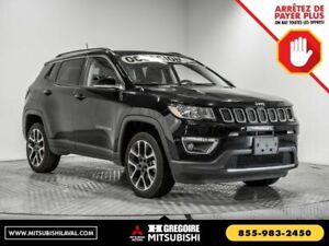 2018 Jeep Compass Limited 4X4 TOIT NAVIGATION CUIR
