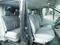 Low Mileage only 42,707 miles! Vauxhall Vivaro LWB 2.0CDTi Sportive 6 seat factory fitted crew (2)