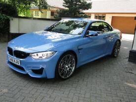 BMW M4 3.0 ( 444bhp ) ( Competition Pk ) M DCT 2016 YAS MARINA BLUE 400 MILES!