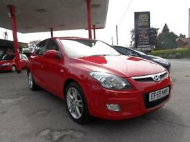 10 (59) HYUNDAI I30 1.6 PREMIUM AUTOMATIC 5DR ONE LADY OWNER, 55,000 MILES