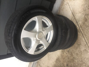 175/65/14  Alloy rims