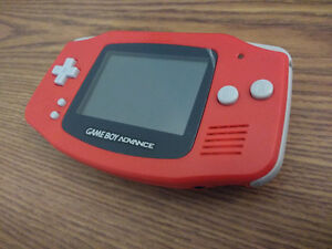 Gameboy Advance GBA red rouge Neuf FERME