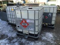 4 large water gallons reservoir tanks 1000L