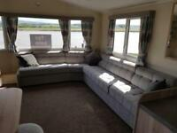 STATIC CARAVAN FOR SALE: RIO GOLD DELUXE; CONTACT BRIAN 01524844193