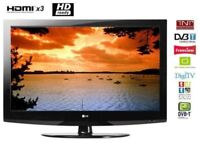 """LG 32"""" inch HD LCD TV with Freeview Built in, 3 x HDMI, not 28, 37 39. May Deliver Locally"""