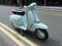 1962 LAMBRETTA LI125 IN BLUE, LOVELY EXAMPLE