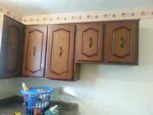 Wood Cabinets uppers and lowers