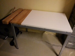 VERY UNIQUE IKEA Dining/craft table