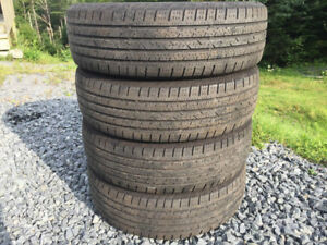 Four 215/70R16 Summer Tires