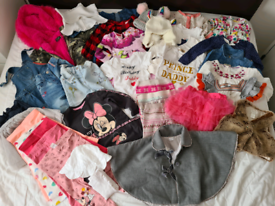 Baby girls bundle 12-18