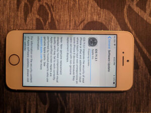 iPhone 5S gold 16gb locked to Rogers!