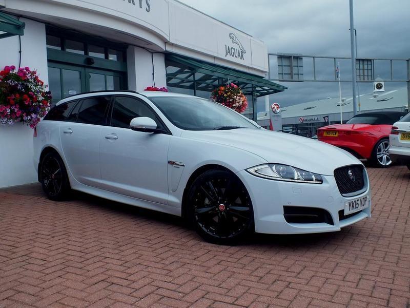 jaguar xf sportbrake r sport black 5 door auto white. Black Bedroom Furniture Sets. Home Design Ideas