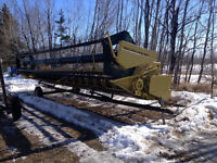 New Holland 971 Header with Trailer