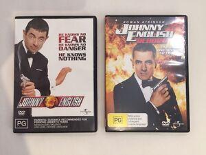JOHNNY ENGLISH / REBORN double DVD bundle Darwin CBD Darwin City Preview