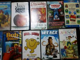 17 Classic Children's Original VHS Video Tapes popular titles