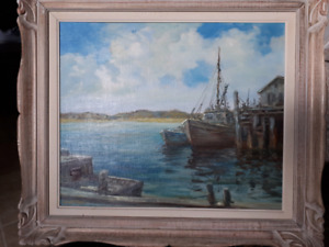 Signed  Painting by Wendell Rogers