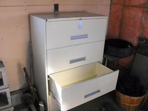 2 X 4 shelf filing cabinets (used for storage) ... Excellent con