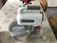 Kenwood Chefette food mixer as new