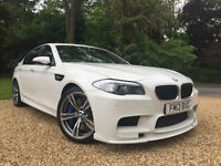 2013 BMW M5 4.4 DCT 560 BHP TWIN TURBO 20K FBMWSH HAMANN BODYKIT HEADS UP NAV
