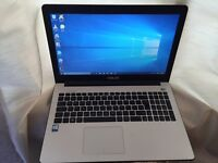 4GB fast like new Asus HD laptop massive 500GB,window10,Microsoft office,ready to use(boxed)