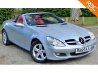 2005 55 MERCEDES-BENZ SLK 1.8 SLK200 KOMPRESSOR 2D AUTO 161 BHP, LOWER TAX!