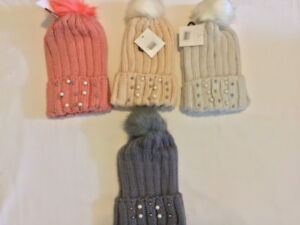 61148480e99 Woolen Hats With Beads