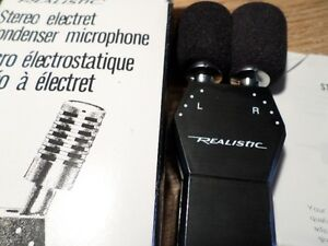 Vintage Realistic Stereo Microphone (VIEW OTHER ADS) Kitchener / Waterloo Kitchener Area image 1