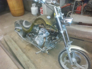 Mini Chopper hard tail