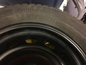 "16"" Snow Tires - Winter Contact SI Continental - 205/55R16 94HXL"