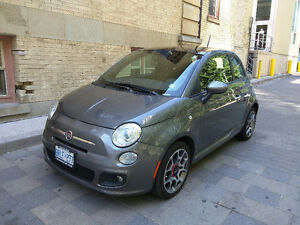 2013 Fiat 500c Sport Hatchback Fully Loaded Manual