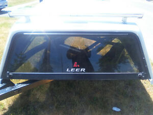 Leer Truck Cap with Roof Rackoff a 2010 Dodge Ram